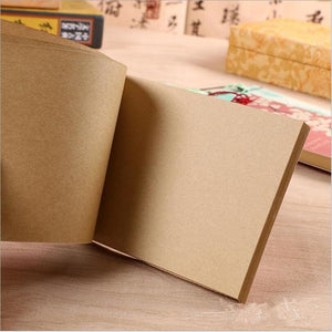 Hand Bound Chinese Style Blank Book - 3 Styles
