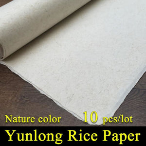 Handmade Xuan Yunlong Mulberry Paper - 4 Sizes