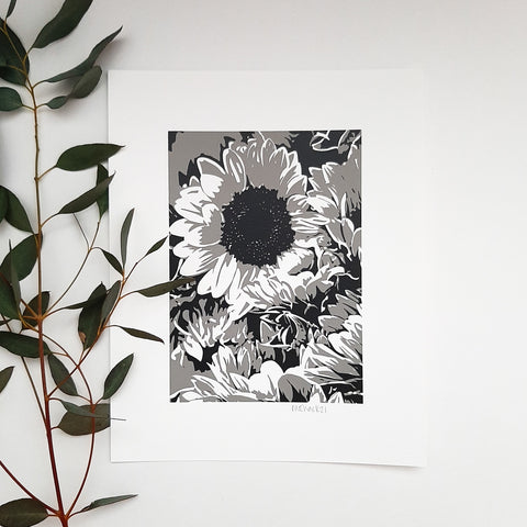 Paper Print - Sunflowers