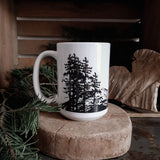 Mountains are Calling Ceramic Mug - 15 oz  - Free Shipping