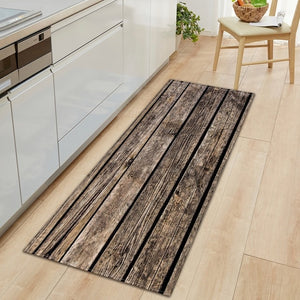 modern Kitchen Mat Long Strip Bedroom Entrance Doormat 3D Pattern Home Floor Decoration Living Room Carpet Bathroom Non-Slip Rug