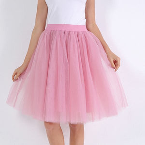Puffy Tutu Tulle Skirt for Women