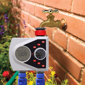 Two Outlets Garden Automatic Watering Timer