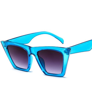 Plastic Vintage Luxury Sunglasses Women