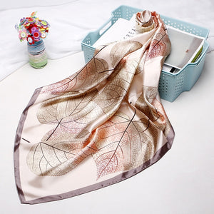 Silk Satin Neck Scarf For Women