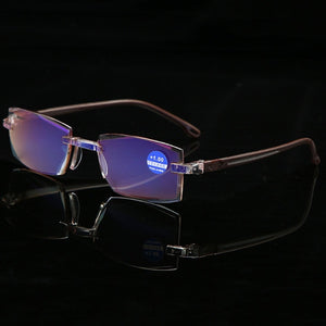 Ultralight Rimless Reading Glasses for Men