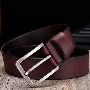 Genuine Leather Luxury Strap Belt