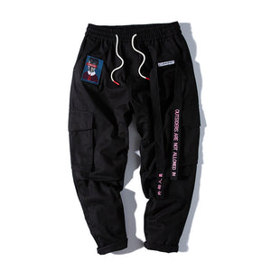 Hip Hop Sweat Pants Embroidery Trousers