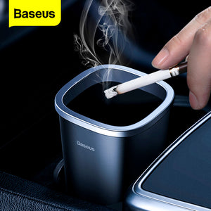 Baseus Can Trsah Mini Garbage Can Auto Trash Bin Dustbin Rubbish Basket Organizer Trash Bin For Office Desktop Trash Accessories