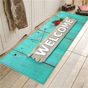 Door Entrance Mat Floor Mat Kitchen Carpet Long Non-Slip Floor Rug For Living Room Bedroom Welcome Home Door Mat In The Hallway