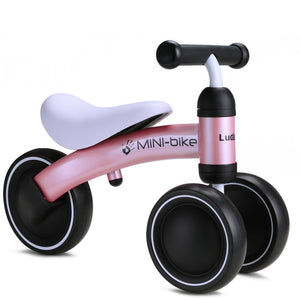 Infant Shining Baby Balance Bike Walker Kids Ride on Toy Gift for 10-24 Month Children for Learning Walk Scooter