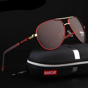 Polarized Coating Mirror Men's Sunglasses