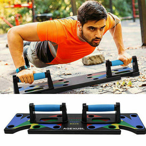 Best Push Ups Rack Board for home gym Lovers comes with 9 qualities  in 1 board