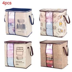 Buy Best Portable Clothes Storage Bag Organiser and  Folding Closet