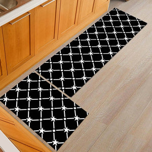 Anti-slip Kitchen Mat Modern Bath Carpet Entrance Doormat Tapete Absorbent Rugs for Bedroom Prayer Pad