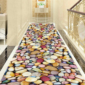 Simply Style Home Decorative Carpet Indoor Entrance Mat Bedroom Bathroom Kitchen Floral Floor Mat Rug Living Room Area Rug