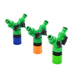 Irrigation 2 Way Garden Tap Valve