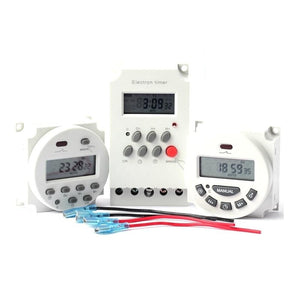 Microcomputer Control Time Switch Digital LCD