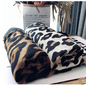 Luxury Leopard Scarf for Women