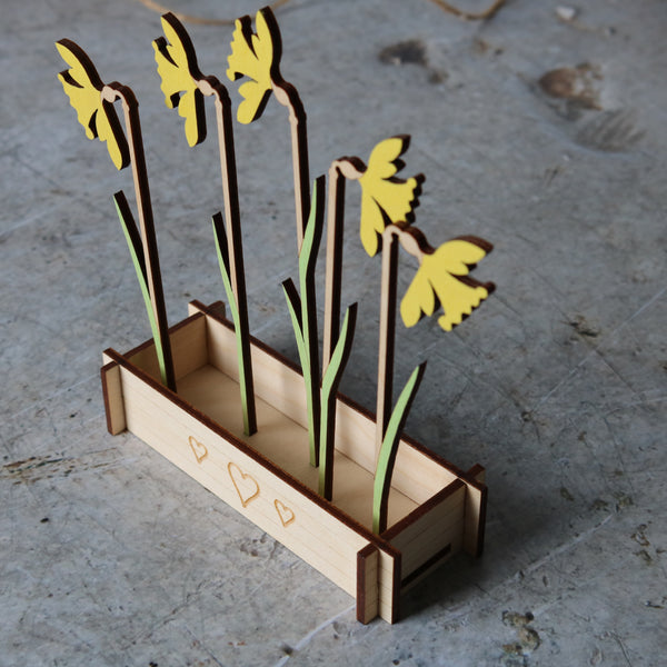Daffodils Flower Box