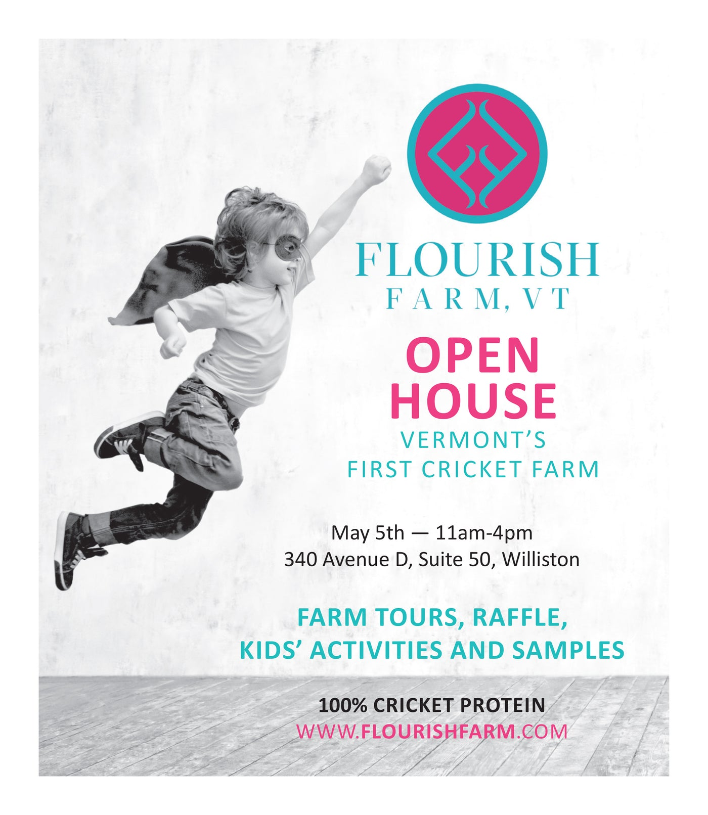 Flourish Farm Open House May 5