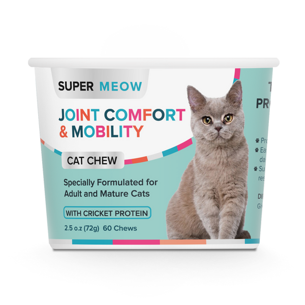 SuperMeow Joint Comfort & Mobility Cat Chews