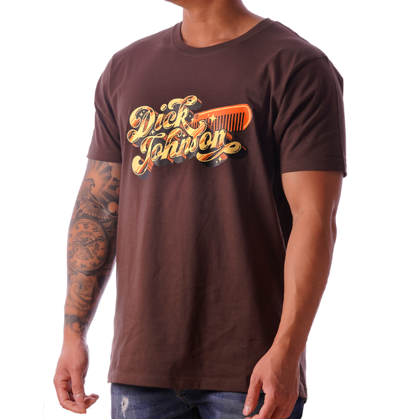 T-Shirt 70´s Porn Movie Dark Brown