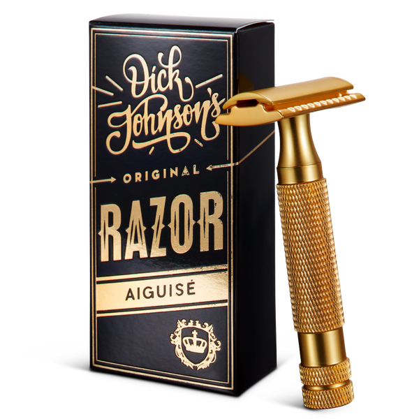 Safety Razor Gold Aiguisé