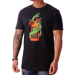 T-Shirt Whiskey Snake Black