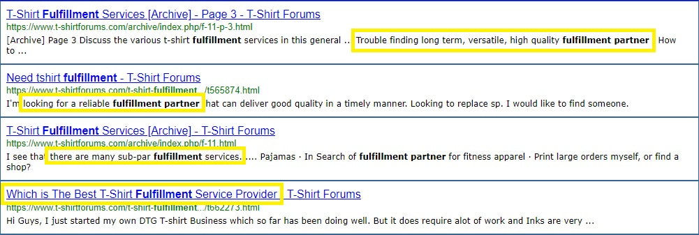 HOW TO FIND A FULFILLMENT PARTNER FOR YOUR T-SHIRT BUSINESS