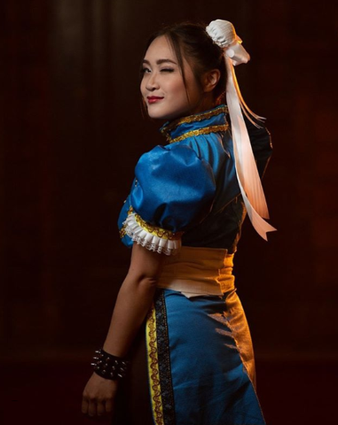 Gemma Nguyen as Chun Li on Instagram