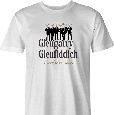 Glengarry Glenfiddich T-Shirt by BigBadTees.com