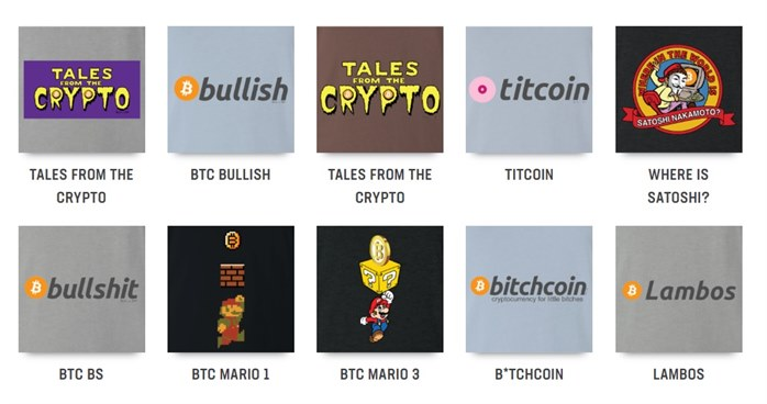 BigBadTees.com - Cryptocurrency T Shirts