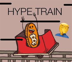 Bitcoin Hype Train