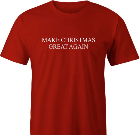 Make Christmas Great by BigBadTees.com