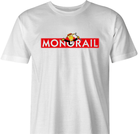 Monorail Monopoly by BigBadTees.com