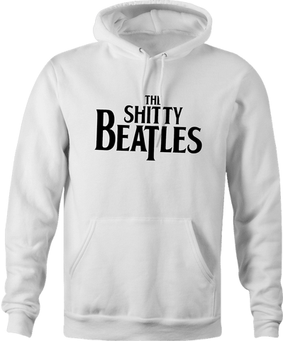 The Shitty Beatles Wayne's World Parody Hoodie By BigBadTees.com
