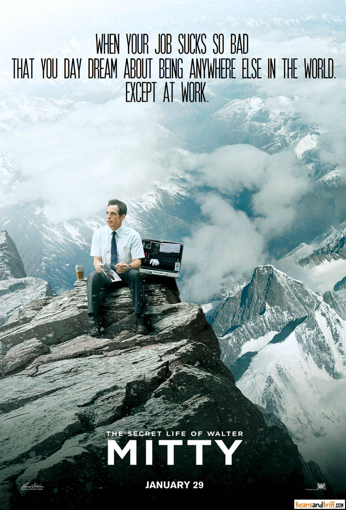 The Secret Life of Walter Mitty - Alternate Movie Poster