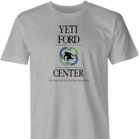 Yeti Ford Center T-Shirt by BigBadTees.com