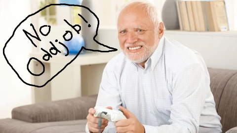 Hide The Pain Harold BigBadTees.com Video Games