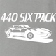 funny 440 six pack jared zimmerman car-fix tv show Ash Grey t-shirt