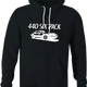 funny 440 six pack jared zimmerman car-fix tv show black hoodie