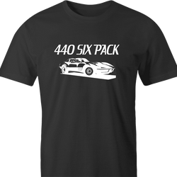funny 440 six pack jared zimmerman car-fix tv show men's t-shirt
