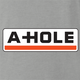 Funny Asshole U-Haul  parody t-shirt grey
