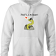 funny That's Amore Play On Word That's A Moray Eel white hoodie