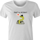funny That's Amore Play On Word That's A Moray Eel white women's t-shirt