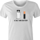 funny pun a salt and battery a salt and battery t-shirt white women's