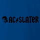 AC Slater Meets AC/DC Mashup Funny Royal Blue T-Shirt