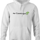 Funny sexy air cunnilingus parody white hoodie