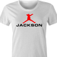 Michael Jackson Air Jordan funny t-shirt women's white
